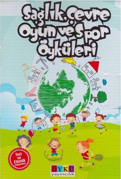 Öykü Yayınları 3. ve 4. Sınıf Sağlık Çevre Oyun ve Spor Öyküleri (10 Kitap)