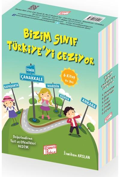Gizemli Bahçe 3. Sınıflar İçin Bizim Sınıf Türkiyeyi Geziyor 6 Kitap
