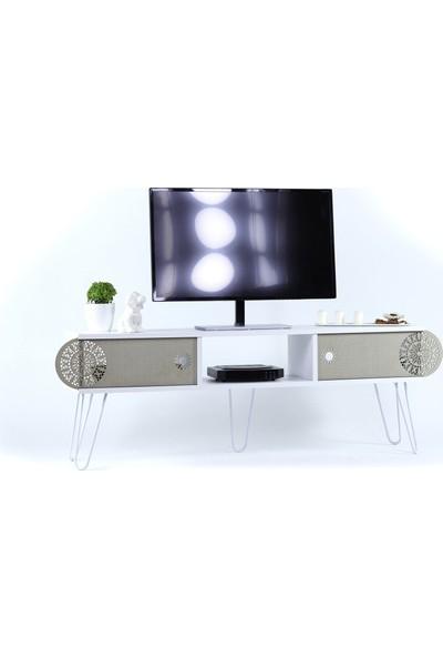 Mingitav Illia Maxi Tv Ünitesi No.2 Beyaz