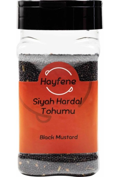 Hayfene Hardal Tohumu (Siyah) 185 gr