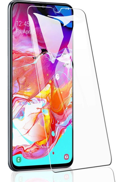 Case 4U Samsung Galaxy A70 Nano Cam Ekran Koruyucu Şeffaf