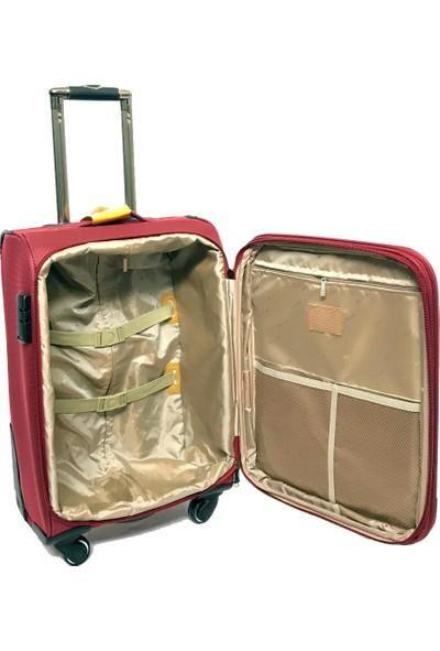Mçs Lux Kumaş Valiz Kabin Boy