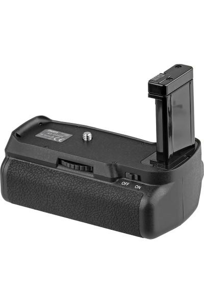 Ayex Nikon D3400 İçin Ayex Ax-D3400 Ir Kumandalı Battery Grip + 2 Ad. En-El14 Batarya