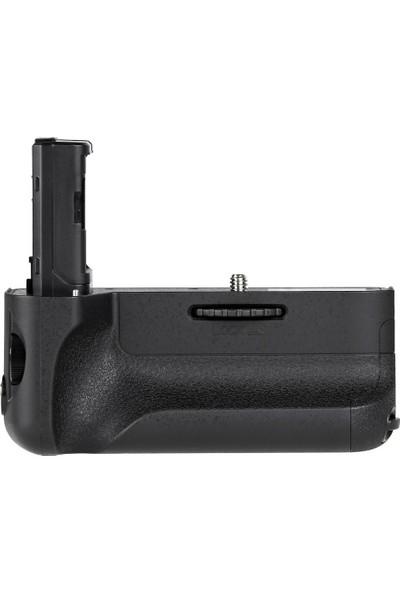 Ayex Sony A7 Iı, A7R Iı, A7S Iı İçin Ayex Ax-A7Iı Battery Grip + 2 Ad. Np-Fw50 Batarya