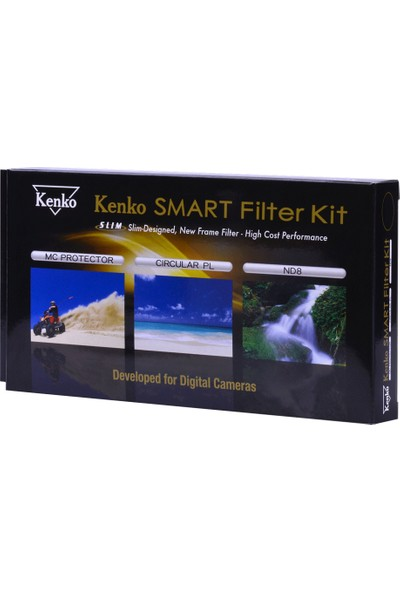 Kenko 49Mm Slim Smart Filtre Set