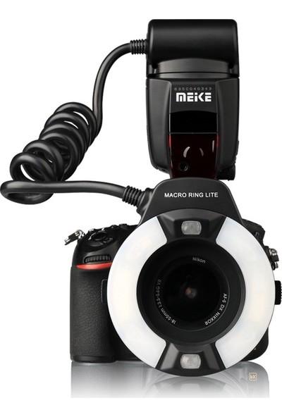 Meike Nikon İçin Mk-14Ext-N İ-Ttl (Macro) Makro Ring Flaş