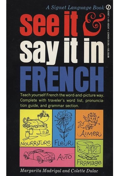 See It And Say It In French - M. Madrigal