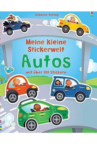 Mein Kleine Stickerwelt: Autos - Felicity Brooks