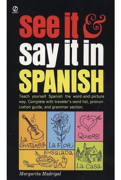 See It And Say It In Spanish - M. Madrigal