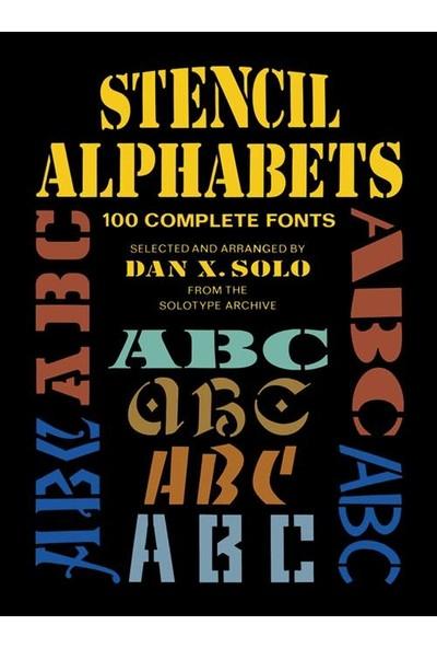 Stencil Alphabets - Dan X. Solo