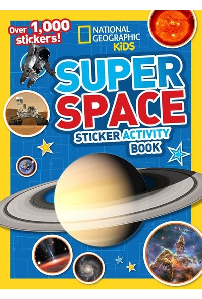Super Space Activity Book - National Geographic Kids