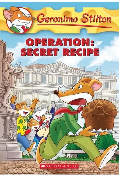 Operation Secret Recipe (Geronimo Stilton 66) - Geronimo Stilton