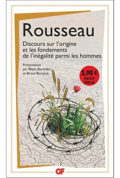 Discours Sur L'origine Et Les Fondements De L'inegalite Parmi Les Hommes - Jean-Jacques Rousseau