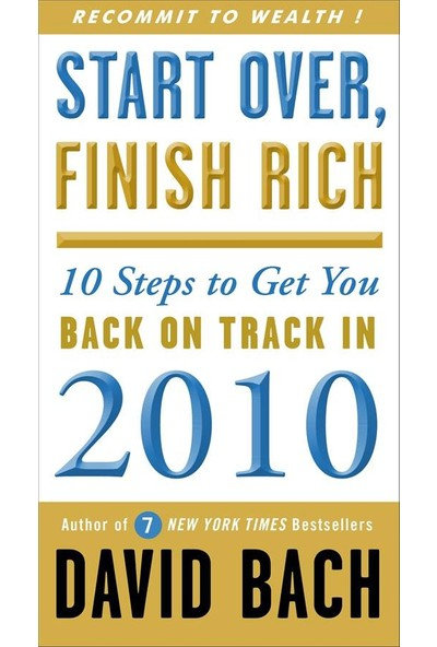 Start Over, Finish Rich - David Bach