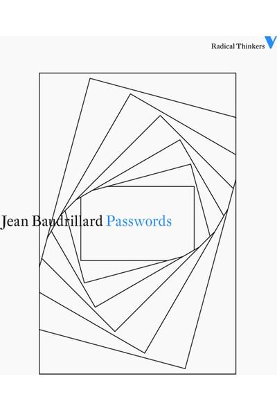 Passwords - Jean Baudrillard