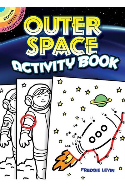 Outer Space Activity Book - Freddie Lewin