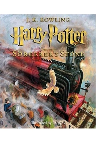 Harry Potter And The Sorcerer's Stone: The Illustrated Edition (Harry Potter, Book 1) - J. K. Rowling