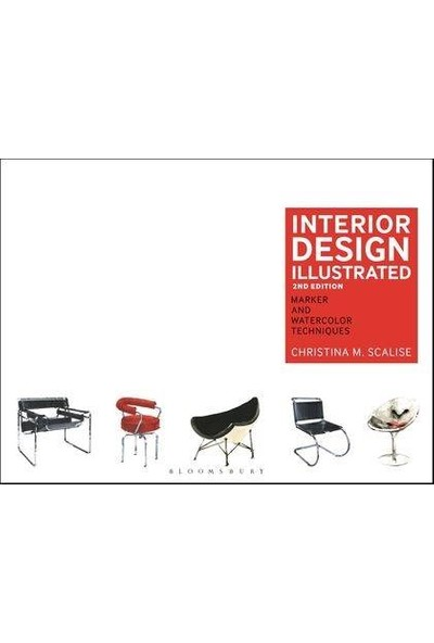 Interior Design Illustrated Pb - Christina M. Scalise