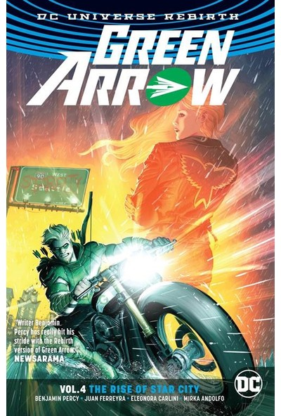 Green Arrow 4:the Rise Of Star City (Rebirth)