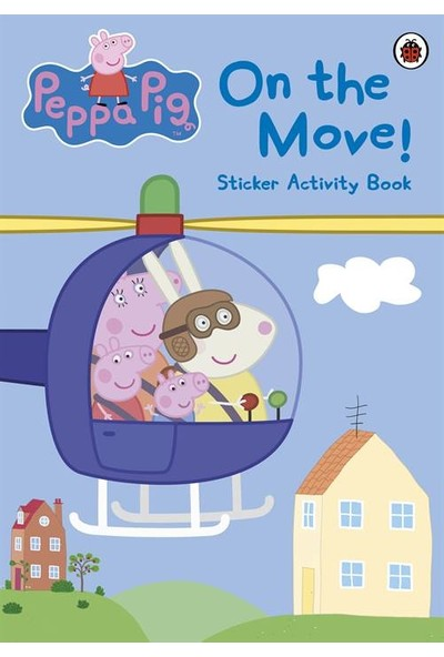 Peppa Pig On The Move Sticker Activity Book