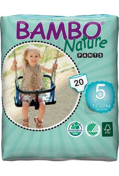 Bambo Nature No5 Alıştırma Külodu 12-20 kg / 20' li
