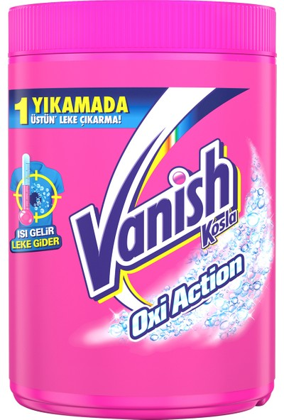 Vanish Kosla Leke Çıkarıcı Toz 1200gr Renkliler için