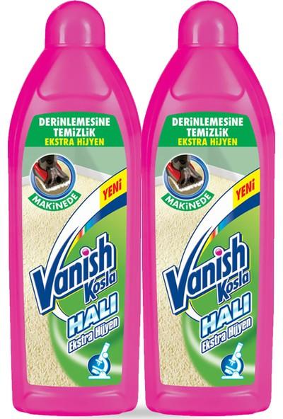 Vanish Kosla Halı Şampuanı Makine Yıkama Ekstra Hijyen 2'li Paket (2x800 ml)