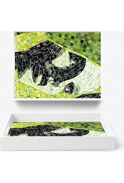 Artua By Foresta Concept MDF Tepsi Tablo ART231