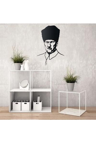 Tualist Atatürk Metal Tablo