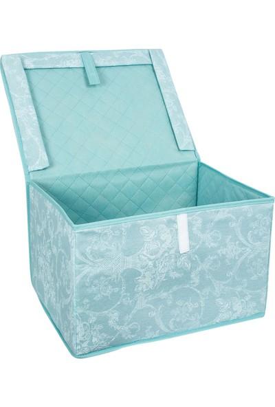 Alas Çok Amaçlı Kutu Minik Mavi 27X20X18 Cm