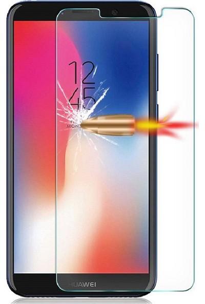 Engo Huawei Y6 2018 Ekran Koruyucu Nano Flexible Esnek 9h Koruyucu Temperli Cam