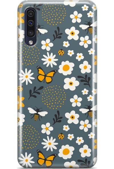 Melefoni Samsung Galaxy A70 Kılıf Ladybug Serisi Eliza