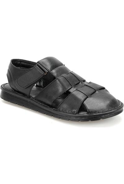 Flexall 103 C Siyah Erkek Klasik Ayakkabı