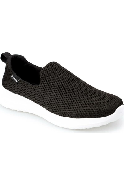 Kinetix Fury Siyah Beyaz Erkek Yürüyüş Ayakkabısı