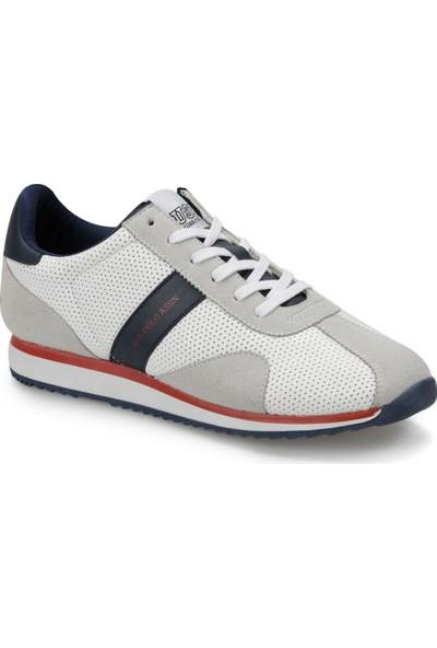 U.S. Polo Assn. Lewan Beyaz Erkek Ayakkabı