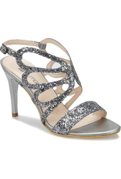 Butigo 19S-163 Gümüş Kadın Ayakkabı