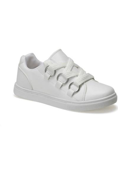I Cool Hawaii Beyaz Kız Çocuk Sneaker Ayakkabı