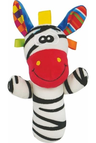 Prego Toys Zebra Çıngırak Oyuncak P206093