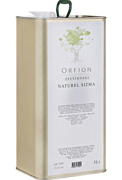 Orfion Olgun Hasat Naturel Sızma Zeytinyağı - 5lt