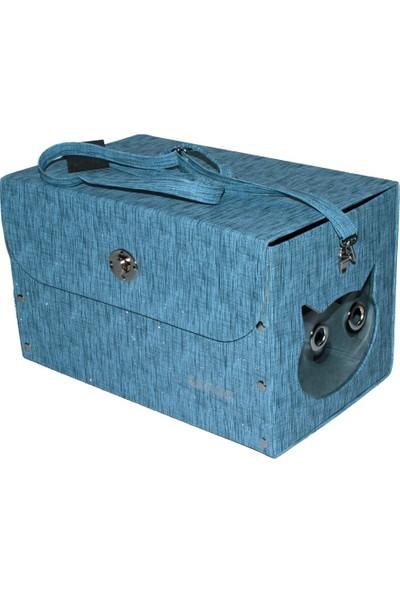 Lepus Style Bag Kedi Taşıma Çantası Mavi