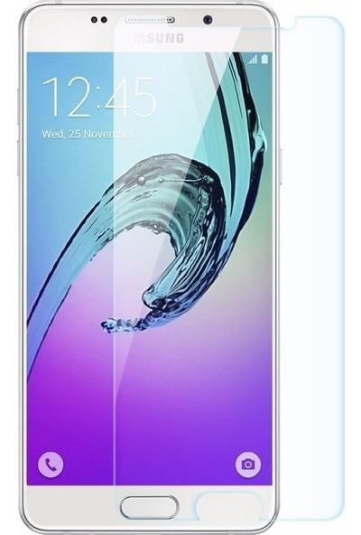 Casestore Samsung Galaxy A8 2016 Nano Ekran Koruyucu Cam Şeffaf + Şeffaf Silikon Kılıf