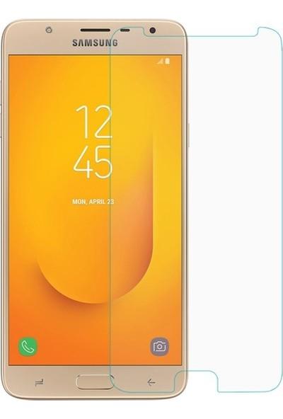Casestore Samsung Galaxy J7 Duo Nano Ekran Koruyucu Cam Şeffaf + Şeffaf Silikon Kılıf