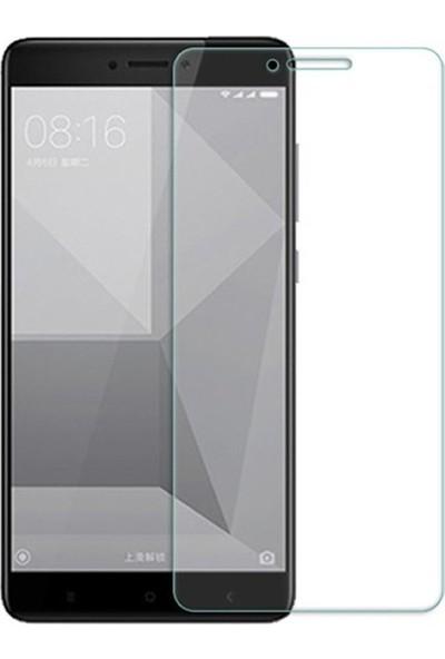 Casestore Xiaomi Redmi Note 4X Nano Ekran Koruyucu Cam Şeffaf + Şeffaf Silikon Kılıf