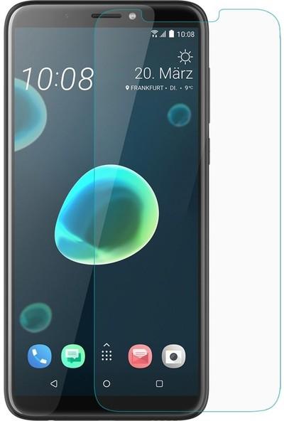 Ehr. HTC U Ultra Nano Ekran Koruyucu Cam Şeffaf + Şeffaf Silikon Kılıf