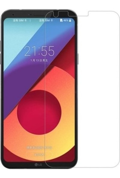 Casestore LG K10 2017 Nano Ekran Koruyucu Cam Şeffaf + Şeffaf Silikon Kılıf