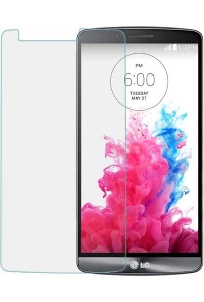 Casestore LG Stylus 3 Nano Ekran Koruyucu Cam Şeffaf + Şeffaf Silikon Kılıf