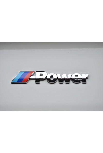 Bmw M Power Arka Bagaj Yazısı