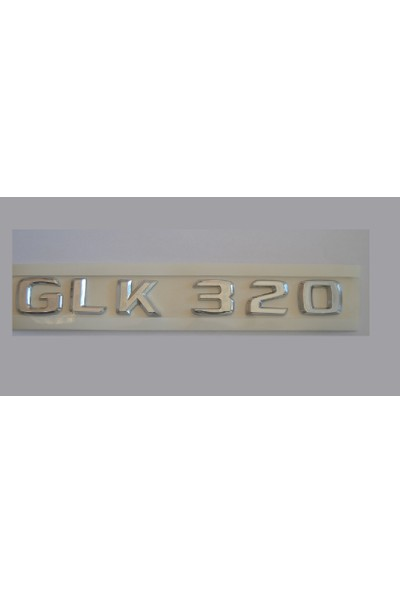 Mercedes GLK320 Yazı