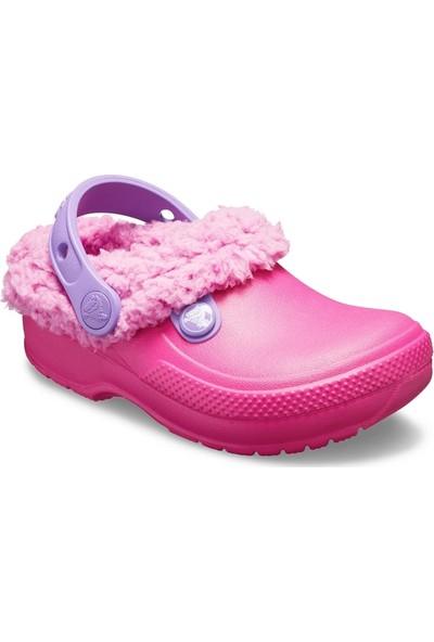 Crocs Classic Blitzen Iıı Clog Çocuk Terlik Candy Pink Pembe 204655
