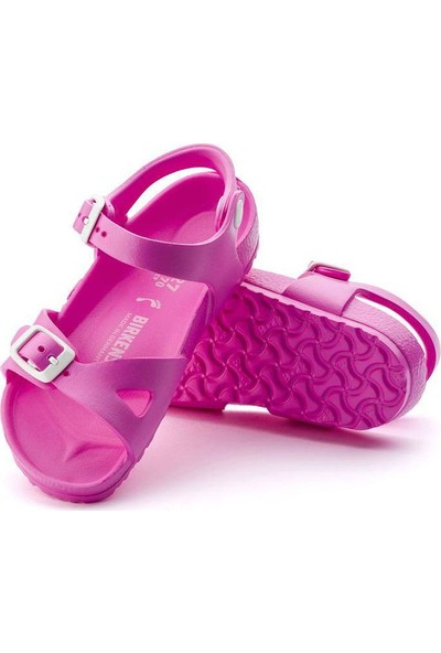 Birkenstock Rio Eva Neon Pink Çocuk Sandalet 126123